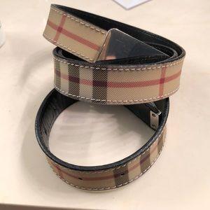 Burberry Accessories - Burberry Belt